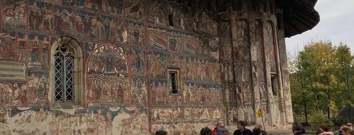 Biserica Mânăstirii Humorului is one of Locais curtidos por Thomas.