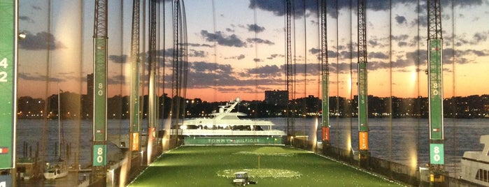 The Golf Club at Chelsea Piers is one of New York, my dear New York.