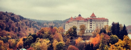 Spa Resort Sanssouci is one of Karlovy Vary.