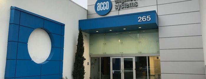 ACCO Engineered Systems is one of Lauren'in Beğendiği Mekanlar.