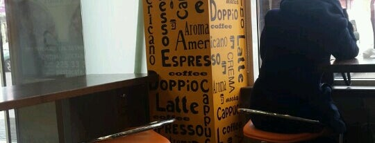 Doppio Espresso Bar is one of Posti che sono piaciuti a Денис.