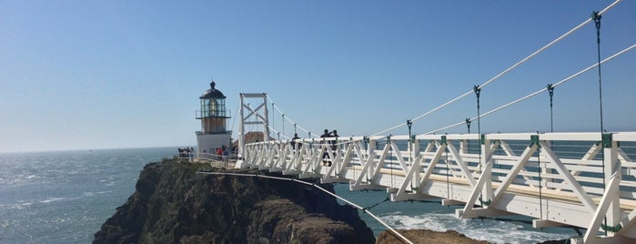 Point Bonita Lighthouse is one of San Francisco Dos.