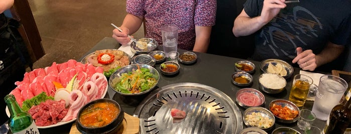 Kkoki Korean Bbq is one of Lugares favoritos de Haley.
