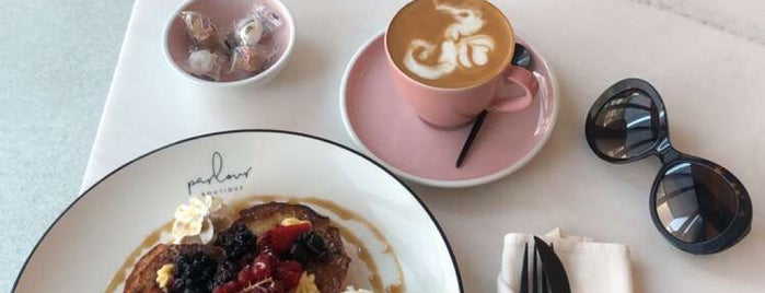 Parlour Boutique is one of Dubai - Breakfast.