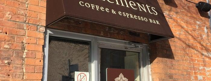 5 Elements Espresso is one of Amandaさんのお気に入りスポット.