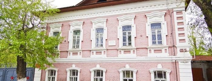 Здание Лесной школы is one of kurgan.pro.
