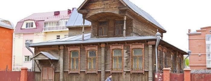 Дом с мезонином is one of kurgan.pro.