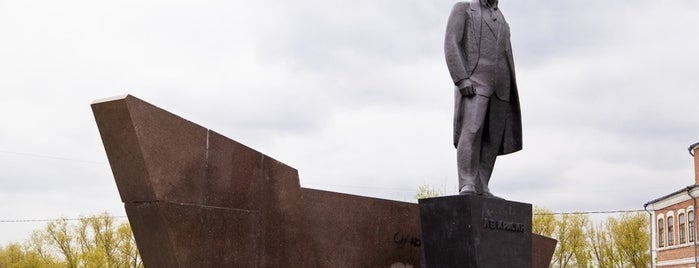Памятник Л. Б. Красину is one of kurgan.pro.