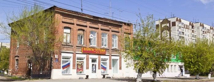 Дом А. П. Галямина is one of kurgan.pro.