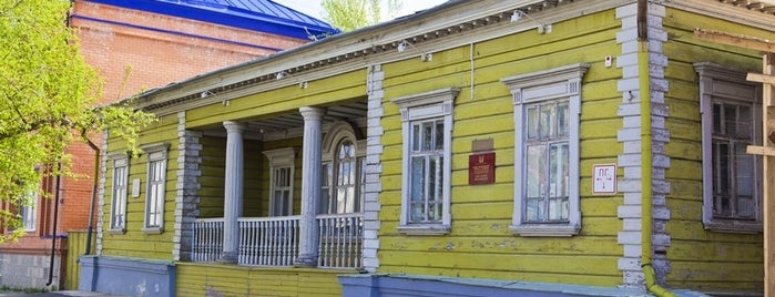 Дом декабриста М. М. Нарышкина is one of kurgan.pro.