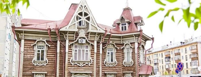 Дом инженера Ф. Ф. Остапца is one of kurgan.pro.