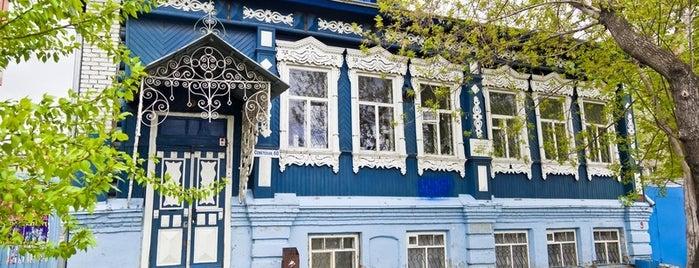 Дом крестьянина Ф. И. Пинаева is one of kurgan.pro.