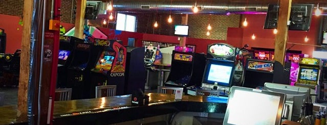 Boxcar Bar + Arcade is one of Raleigh nightlife.