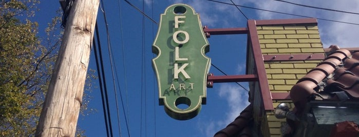Folk Art Restaurant is one of ATL eats and drinks.