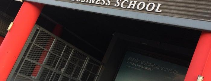 SKEMA Business School -  Lille Campus is one of Lugares favoritos de Bruno.