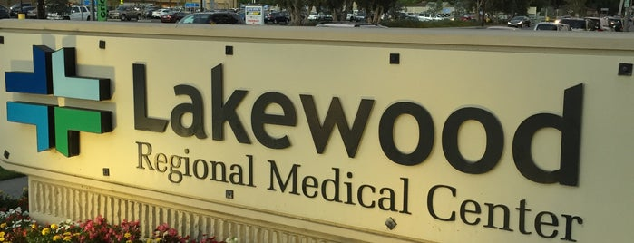 Lakewood Regional Medical Center is one of Orte, die Dan gefallen.