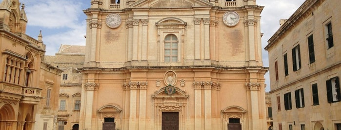 Mdina is one of Malta.