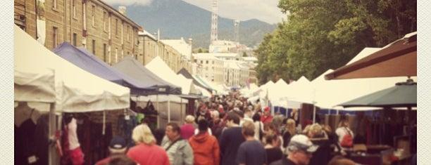 Salamanca Market is one of Andrii 님이 좋아한 장소.
