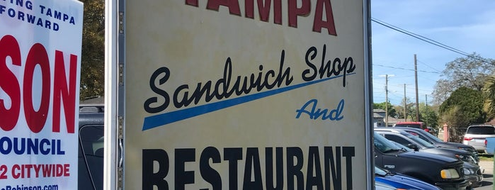 West Tampa Sandwich Shop is one of KIRKさんのお気に入りスポット.