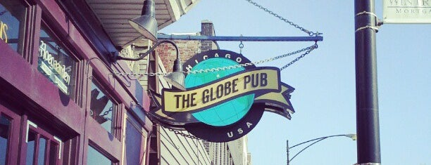 The Globe Pub is one of chicago's best bars.