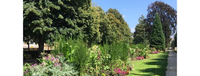 Jardin Anglais is one of La vie en suisse.