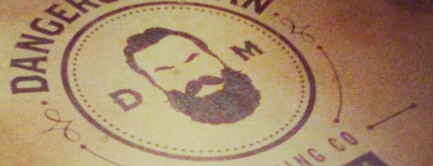 Dangerous Man Brewing Co is one of Jamey'in Kaydettiği Mekanlar.