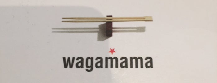 wagamama is one of Lieux qui ont plu à Carl.