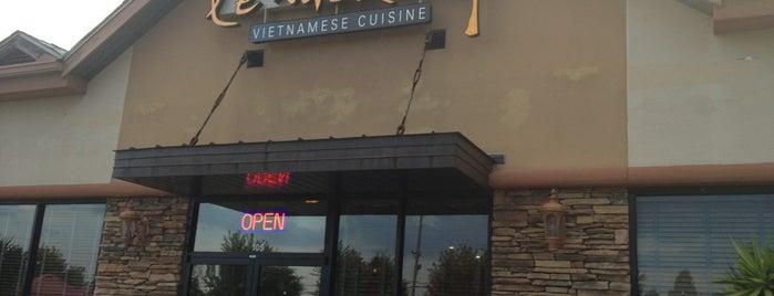Le Mekong Vietnamese Cuisine is one of Johns Creek/North OTP.