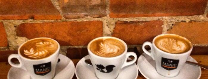 Manic Coffee is one of Tempat yang Disukai em_eh.