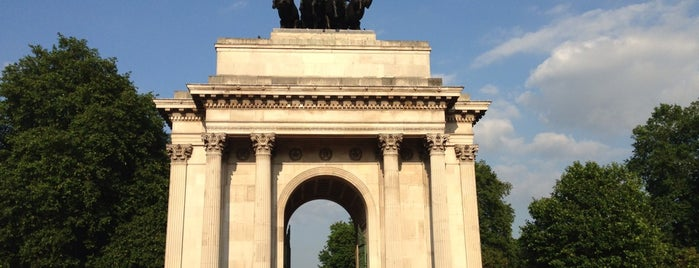 Wellington Arch is one of London Pass.