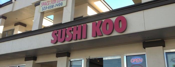 Sushi Koo is one of Online Ordering.