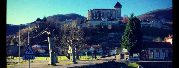 Saint-Bertrand-de-Comminges is one of Les plus beaux villages de France.