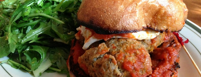 The Meatball Shop is one of Go Back To.