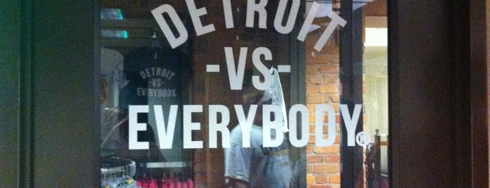 Detroit vs Everybody is one of Detroit + Ann Arbor.