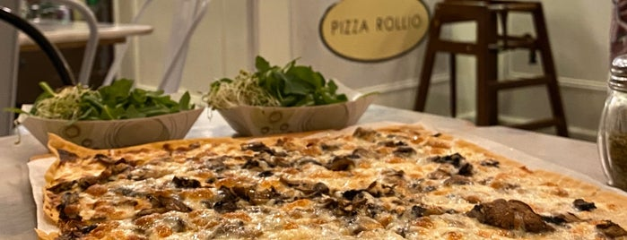 Pizza Rollio is one of eats.