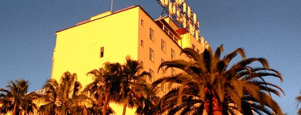 The Hollywood Roosevelt is one of La to sf.