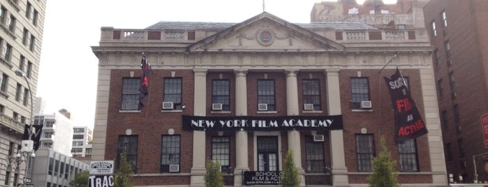 New York Film Academy Union Square is one of Architextour.