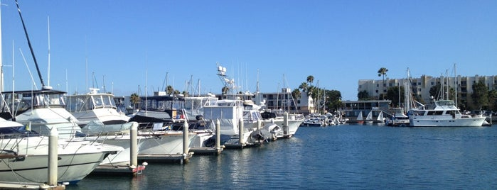 Marina del Rey Harbor is one of David & Dana's LA BAR & EATS!.