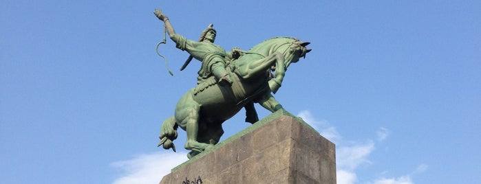 Памятник Салавату Юлаеву is one of Alexander'in Beğendiği Mekanlar.