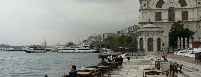 Dolmabahçe Çay Bahçesi is one of # istanbul.