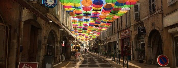 Vesoul is one of Franche-Comté.