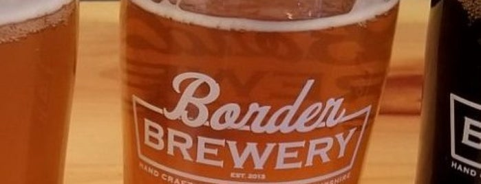 Border Brewery is one of Danielさんのお気に入りスポット.