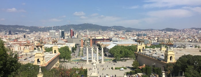 Parc de Montjuïc is one of Barcelone 🇪🇸.