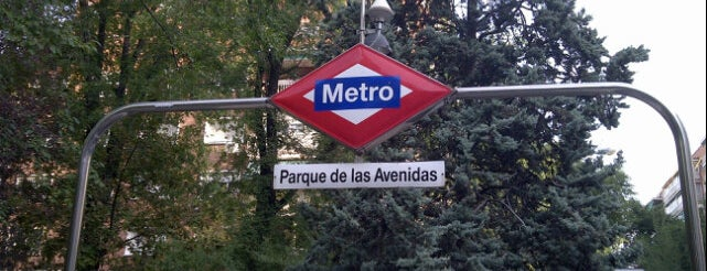 Metro Parque de las Avenidas is one of Transporte.