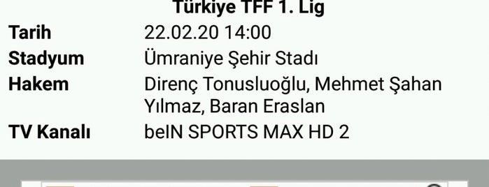 Ümraniyespor Şehir Stadı is one of Baturalpさんのお気に入りスポット.