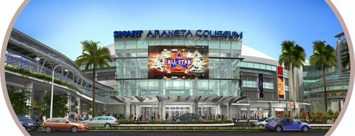 Smart Araneta Coliseum is one of Lieux qui ont plu à Shank.