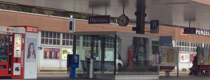 Bahnhof Herisau is one of Aus, Bel, Fra, Ger, Ita & Swi.