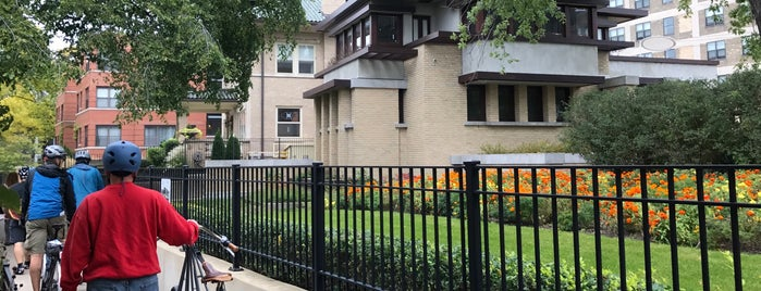 Frank Lloyd Wright's Emil Bach House is one of Frank Lloyd Wright.