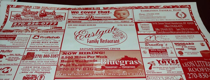 Eastgate Family Restaurant is one of Eville and Henderson.