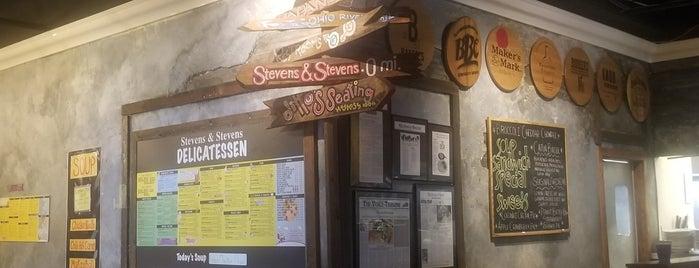 Stevens & Stevens Delicatessen is one of Jacob 님이 좋아한 장소.
